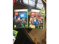 2 harry potters Xbox 360 games