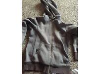 Grey Nike hoodie size small