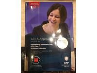 ACCA F1 - Foundation in Accountancy by BPP for 2017