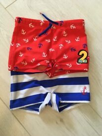 M&S swimming trunks 1.5-2yrs