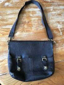 Mulberry Barnaby messenger bag chocolate excellent condition