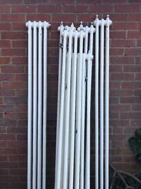 Column radiators. Second hand. Cheap price!