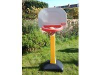 Little Tikes basketball hoop