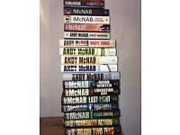 17x Andy McNab books