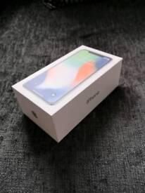 iphone X, unlocked, 64GB