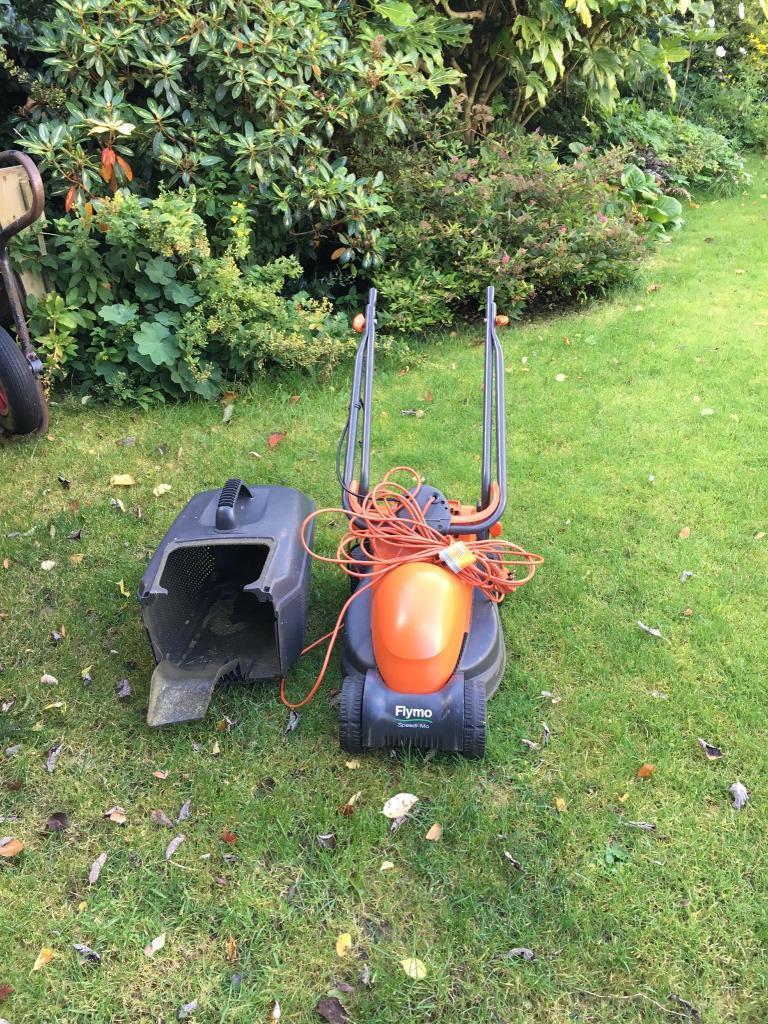 Flymo speedi-mo electric lawn mower