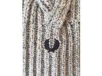 Fred Perry Chunky Knit Scarf