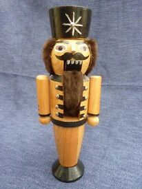 Vintage Wooden Nutcracker