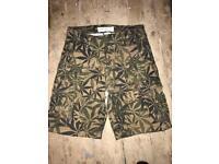 Cannabis shorts 30 waist
