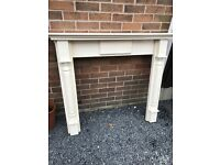 Ornate Solid Wood Fire Surround. Can Deliver.