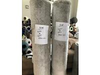 Brand new silver rugs