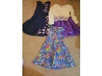 3 x girls dresses 4-5 years.Ideal for parties/christmas