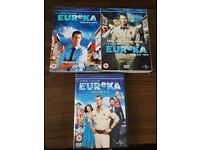 A town called eureka dvd boxsets seasons 1 to 3, used for sale  Tyne and Wear