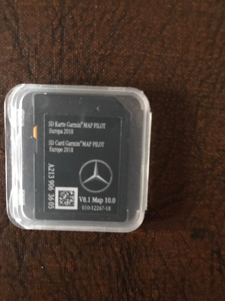Garmin Europe Map Sd Card.New Garmin Mercedes Sat Nav Sd Card 2018 Europe Maps In