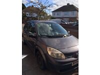 Reliable 2004 Renault Scenic, MOT until March 2017