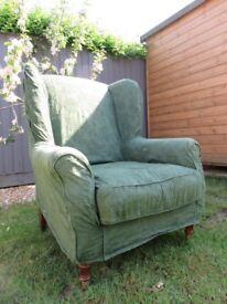 Wingback chair / armchair