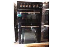 BLACK FLAVEL CHROME DESIGN 50cm NEW MODEL ELECTRIC COOKER