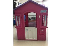 Little Tikes pink cottage playhouse