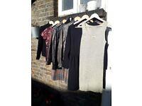 7 Pieces Women's clothes Size 10 Coat Jacket Dress Top