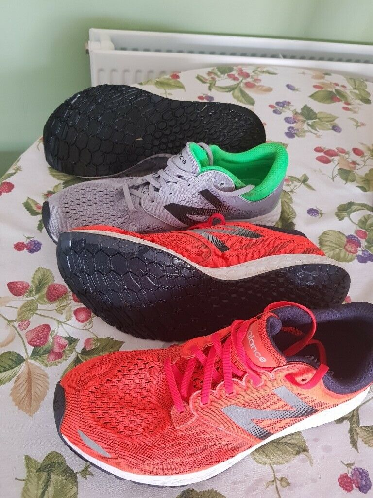 Mens New Balance Zante V3 Running Shoe Trainer Only Orange Pair Left Size 11 | in Abingdon, Oxfordshire | Gumtree