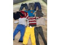 Bundle of clothes £14 bargain sizes 1.5 -3yrs, Zara, next, H&M, f&f 14 items