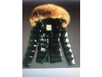 Ladies black Moncler jacket