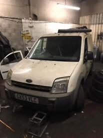 Ford transit connect breaking all parts