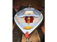13ft Shaldon Rowing Boat