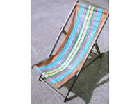 Collectable Vintage Wooden Folding Deck Chair (WH_3354)