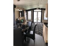 Static caravan with many extras