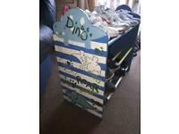 Child's Shoe Rack..