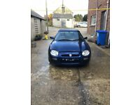 MG MGF for parts or repair. Good runner, starts first time. Requires an alternator for MOT