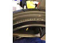 4 Yokohama Tyres 17s