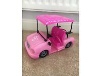 High School Musical Sharpay Golf Cart