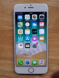 iPhone 6 128gb silver mint unlocked