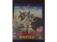 Animals United Blu Ray DVD