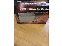 Electric Heater New In Box Instant Heat Eco Energy Saving Heater