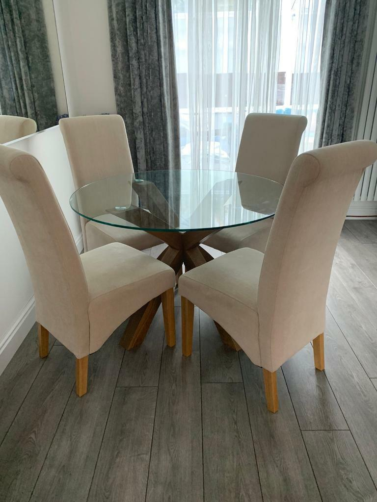 Next Dining Table and Chairs   in Newton Mearns, Glasgow   Gumtree
