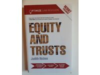 Law Revision Books: Equity & Trusts Optimize, Contract Law Express (2018) £12 for both