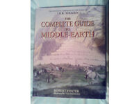 The complete guide to middle earth jrr tolkien robert foster ted nasmith 2003