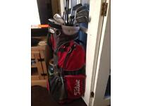 "Titleist Golf Set ""Reduced For a Quick Sale"""