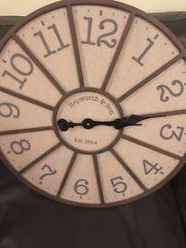 Large Next Wall Clock