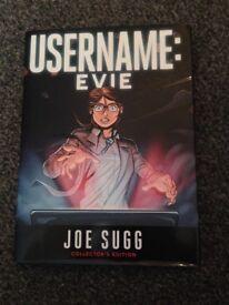Username: Evie hardback book