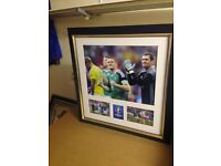 Steven Davis signed Ukraine v Northern Ireland
