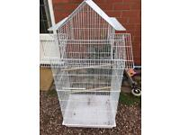 Large tall budgie cage