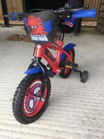 """Spider-Man bike 12"""""""