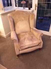 Laura Ashley wingback armchair