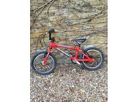 ISLABIKES conc 14 inches red, 3yrs old first bike in original ISLABIKES box + delivery London