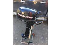 5 hp 4 stroke mercury