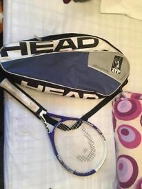 Nano titanium tennis racket